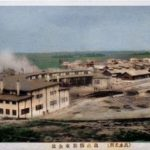 【鹿児島】国鉄出水機関区:カラー化した絵葉書